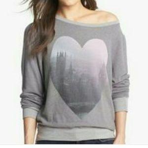 Wildfox London heart sweater